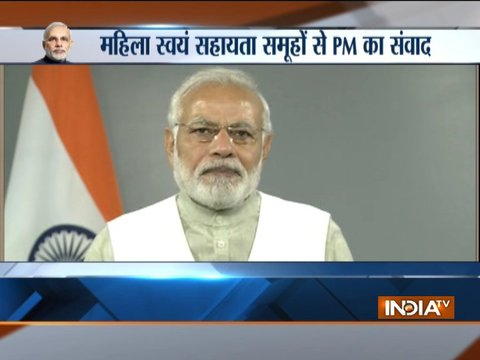 Women can do wonders if provided an opportunity, they can transform a society: PM Modi
