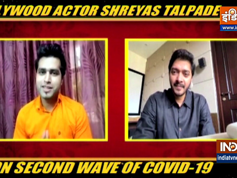 Shreyas Talpade on second wave of Coronavirus