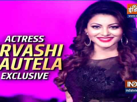 Actress Urvashi Rautela talks about her music video