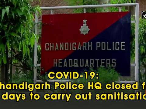 COVID-19: Chandigarh Police HQ closed for 2 days to carry out sanitisation
