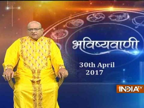 Bhavishyavani : Daily Horoscopes and Numerology | 30th April, 2017 - India TV