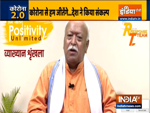 If a third wave of coronavirus comes, we will defeat it: RSS Chief Mohan Bhagwat