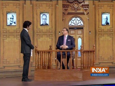 इंडिया टीवी के एडिटर-इन-चीफ रजत शर्मा ने कहा, रितिक रोशन का 'आप की अदालत' में स्वागत है