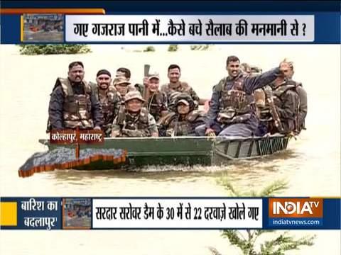 Maharashtra floods: Rescue operation underway in Kolhapur and Sangli