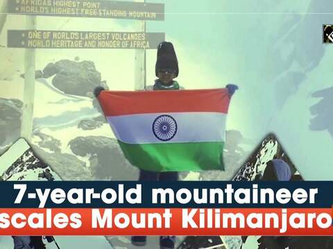 7-year-old mountaineer scales Mount Kilimanjaro