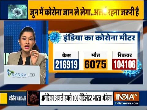 भारत में पिछले 24 घंटे में कोरोना वायरस ने बनाया नया रिकॉर्ड सामने आये 9,304 केस