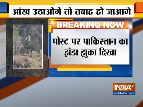 भारतीय सेना ने बॉर्डर पर पाक को दिया मुंहतोड़ जवाब, अखनूर सेक्टर में पाक पोस्ट तबाह किया