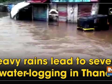 Heavy rains lead to severe water-logging in Thane
