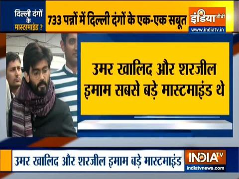 Delhi riots: Sharjeel Imam, Umar Khalid named in supplementary charge sheet