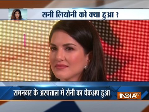 Sunny Leone falls ill during shooting of TV series in Uttarakhand, admitted to hospital