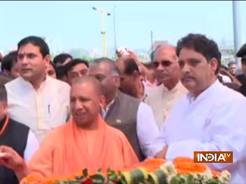 CM Yogi Adityanath inaugurates Hindon elevated road