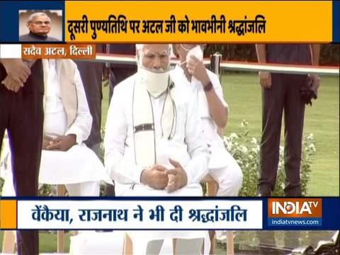President Kovind, PM Modi pay tribute to former PM Atal Bihari Vajpayee, on his death anniversary