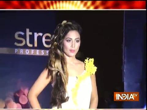Hina Khan shines in ramp walk