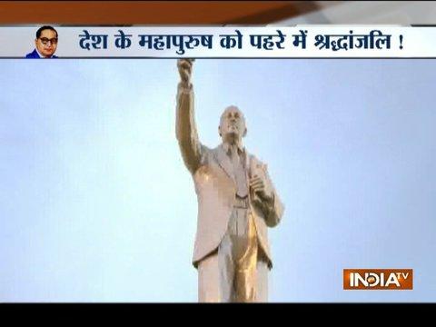Mayawati Pays Tribute To Dr Br Ambedkar