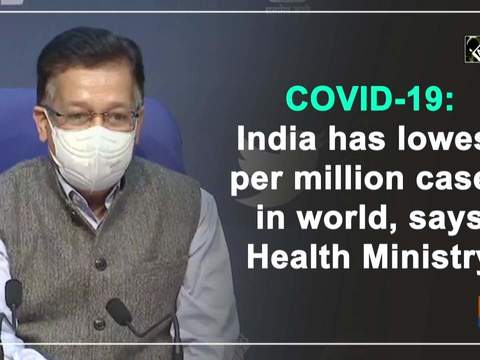 COVID-19: India has lowest per million cases in world, says Health Ministry
