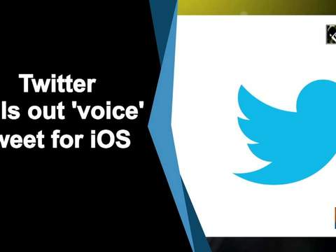 Twitter rolls out 'voice' tweet for iOS