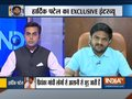 Hardik Patel opens up to India TV on joining Congress