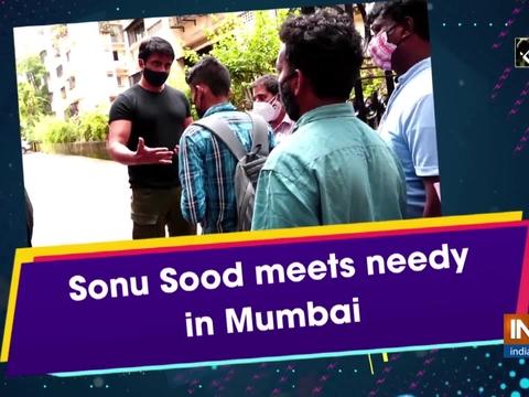 Sonu Sood meets needy in Mumbai