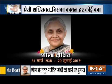 दिल्ली की पूर्व सीएम शीला दीक्षित का 81 साल की उम्र में निधन, राजकीय सम्मान के साथ होगा अंतिम संस्कार