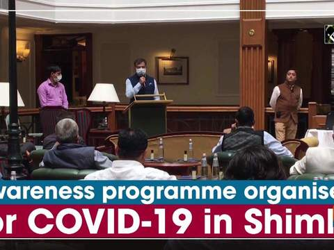 Awareness programme organised for COVID-19 in Shimla