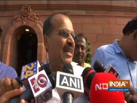 कांग्रेस नेता अधीर रंजन चौधरी ने पीएम के खिलाफ सदन में अपशब्द प्रयोग करने पर माफी मांगी