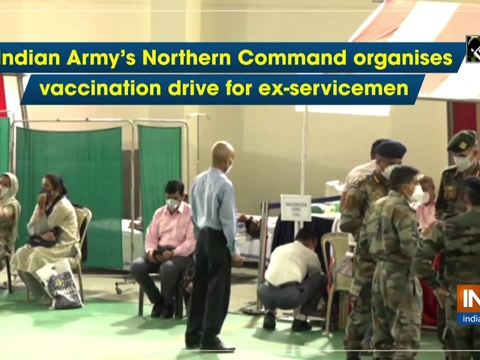 Indian Army's Northern Command organises vaccination drive for ex-servicemen