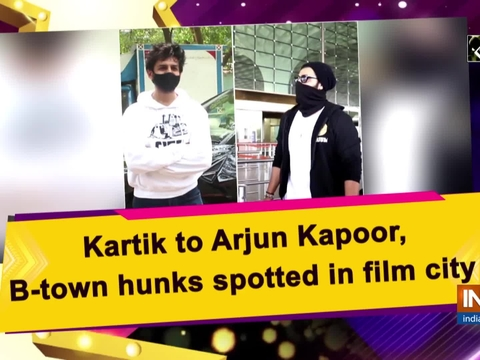 Kartik to Arjun Kapoor, B-town hunks spotted in film city