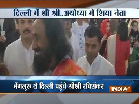 Ram Mandir issue: Sri Sri Ravishankar to meet Muslim clerics