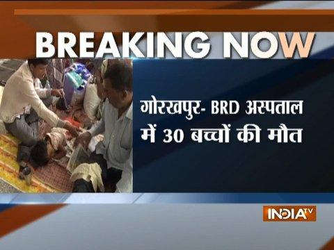 30 more children die in 3 days at BRD Hospital, Gorakhpur