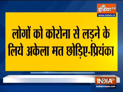 Priyanka Gandhi Vadra targets Yogi govt, says not enough test being done in rural areas