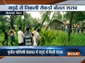 Scuffle among mob after bottles of liquor recover from a well in Sitamarhi