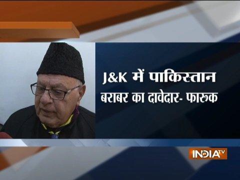 PoK belongs to Pakistan, independent Kashmir not an option: Farooq Abdullah