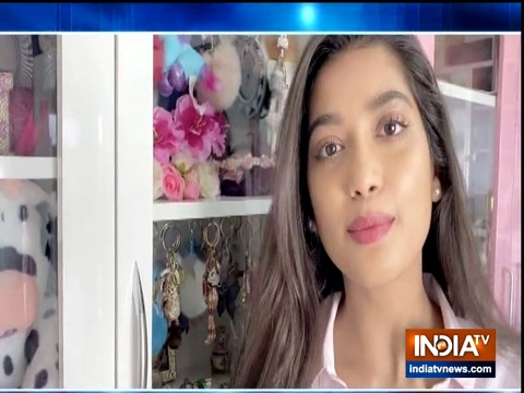 TV actress Digangana Suryavanshi flaunts her collection of accessories