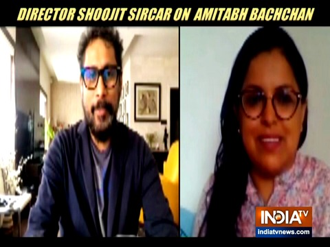 Shoojit Sircar shares experience of working with Amitabh Bachchan