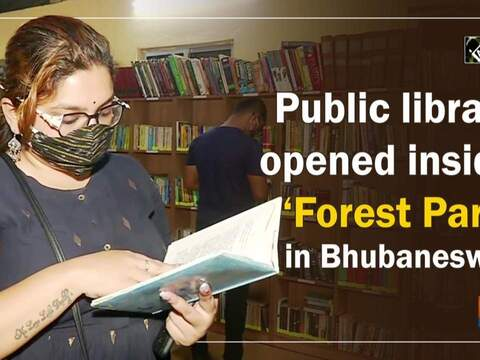 Public library opened inside 'Forest Park' in Bhubaneswar