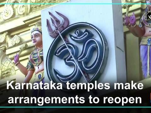 Karnataka temples make arrangements to reopen