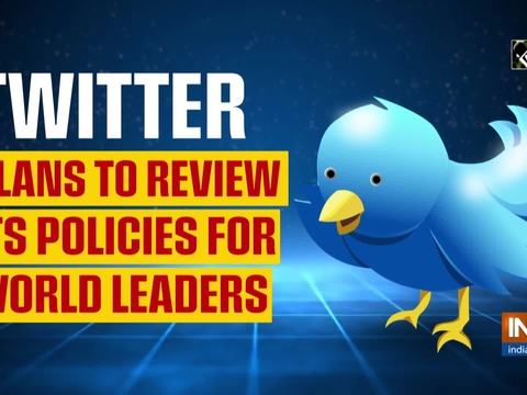 Twitter plans to review its policies for world leaders