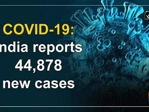 COVID-19: India reports 44,878 new cases