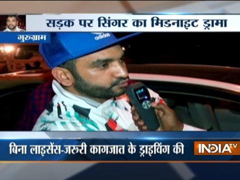 Singer Fazilpuria creates ruckus in drunken state in Gurugram