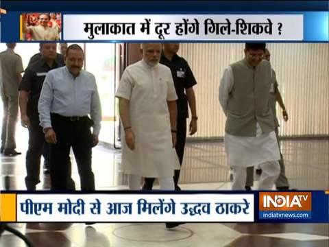 Maharashtra CM Uddhav Thackeray to Meet PM Modi and Sonia Gandhi today