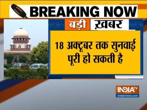 राम मंदिर पर बड़ी खबर, मुख्य न्यायाधीश रंजन गोगोई ने कहा 18 अक्तूबर तक सुनवाई हो सकती है पूरी