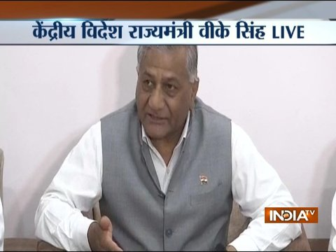 EAM has asked for details of the members, we will see if they can be given govt jobs: VK Singh