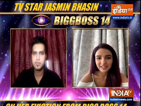 What Jasmin Bhasin told IndiaTV after her eviction from Bigg Boss 14