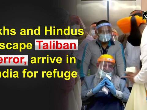 11 Afghan Sikhs, including Nidan Singh kidnapped by Taliban last month, arrives in Delhi