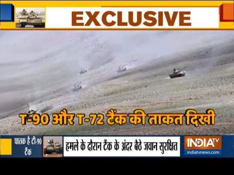 भारतीय सेना का पूर्वी लद्दाख में चीन सीमा के पास बड़े पैमाने पर अभ्यास