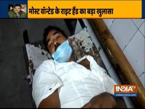 कल्याणपुर में हिस्ट्रीशीटर विकास दुबे के साथी दया शंकर अग्निहोत्री को पुलिस ने गिरफ्तार किया