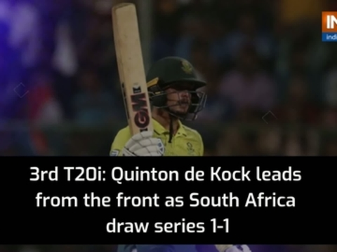 South Africa cruise to 9-wicket win over India, draw T20I series 1-1