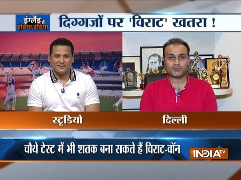 Exclusive: Expect Virat Kohli to score a double or even a triple ton in remaining Tests, says Virender Sehwag