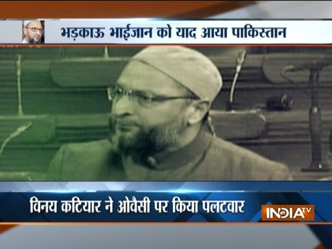 AIMIM chief Owaisi demands jail term to those calling Indian Muslims Pakistani