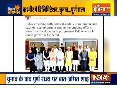 जम्मू कश्मीर में लोकतंत्र को मज़बूत करने पर ज़ोर-पीएम मोदी